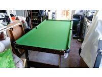 Snooker Table, 6' x 3' £18