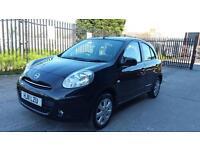 2011 nissan micra 1.2 petrol 5 door hatchback 12 months mot genuine low mileage