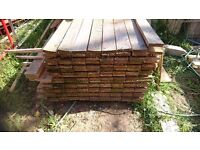4x1 treated timber 4.8 meters long, approx 750 meters ,150-160 planks PLEASE REED FOR PRICE