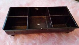 Bakelite cash register drawer insert vintage, possibly made by 'Gross'