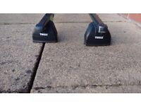 Thule roof bars with feet