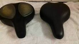Large bike seats