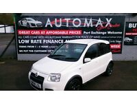 2009 FIAT PANDA 1.4 WHITE 100HP 5 DOOR HATCH 6 SPEED DEC 2017 MOT 64K F/S/H ALLOYS SPOILER CD E/W +