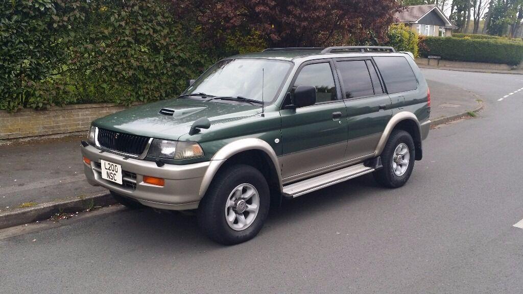 2003 Mitsubishi Challenger 2.5 TD GLS SUV 5dr Diesel Manual