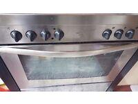 ew World Gas Kitchen Range 90cm cooker STAINLESS STEEL