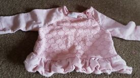 Baby girl clothes Newborn to 1 month