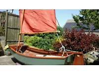 SAIL DINGHY SKYLARK,BY SELWAY FISHER,8FT FOR UP TO TWO PERSONS