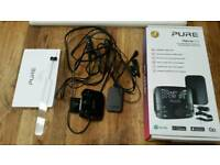 Pure DAB HIGHWAY 600 Adapter + hands free kit