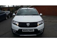 Price reduced Dacia SANDERO STEPWAY Ambiance 2015