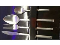 Set of NEXT polished chrome cutlery