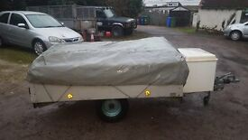 Triango 4 berth trailer tent ,