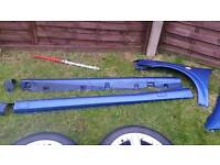 Astra coupe convertible side skirts