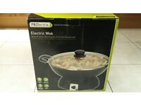 For Sale Prolectrix Electric Wok - Boxed / Never Used / As New
