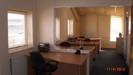 4/5 Person Office available fr £150wk Fully Serviced,2 mins off the Eastern Rd,5 mins fr M27.Car Pk