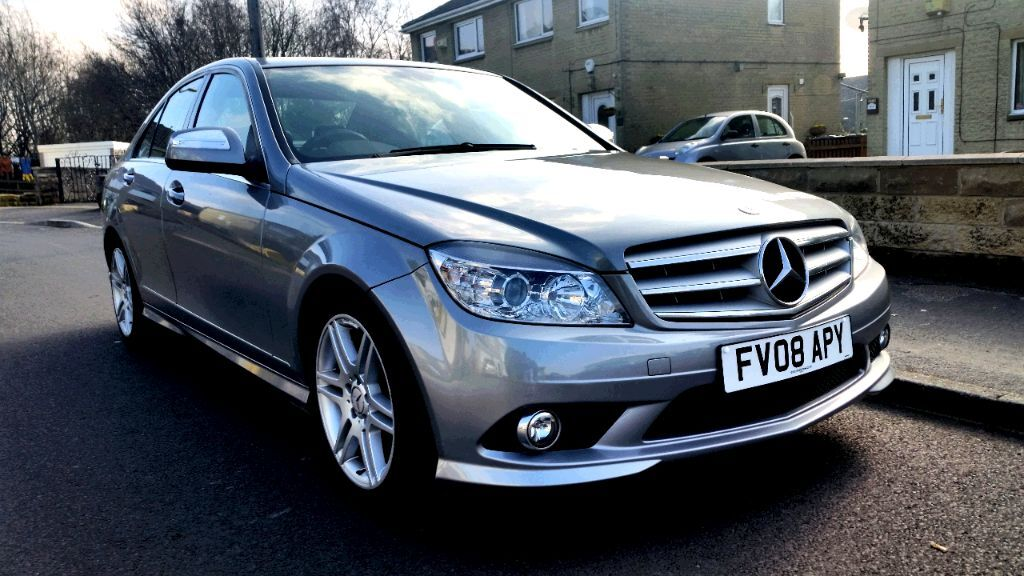 2008 mercedes benz c class 2 1 c200 cdi sport 4dr 8000 ono in huddersfield west yorkshire. Black Bedroom Furniture Sets. Home Design Ideas