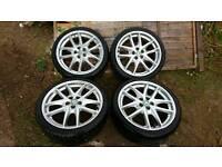 "Genuine 19"" BBS alloys with tyres"