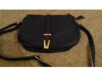 Handbag Dark Blue Shoulder New no lables