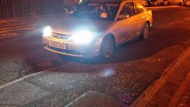 Honda Civic Coupe 1.7 Vtec breaking parts