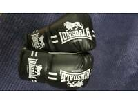 Boxing gloves Lonsdale size small/medium