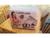 Lakeland lets bake silver stand mixer