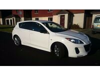 MAZDA 3 SPORT NAV 2.2D 185bhp for sale. 1 owner from new.
