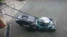 Webb briggs and Stratton ready start lawnmower