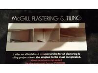 McGill plastering & tiling
