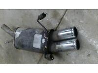 Corsa c irmscher exhaust backbox