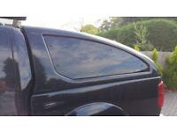 Nissan Navara D40 carryboy sloping canopy