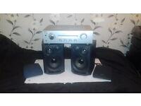 Sony Amplifier - Aiwa speakers