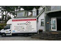 House Removals & Man with a Van for Hire - MJ MOVERS Ltd -24/7 Man with a Van- Insurance Included N
