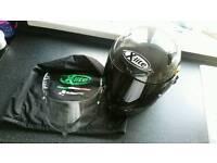 X-lite X802R ultra carbon motorcycle helmet. Large