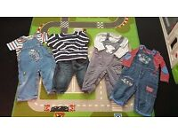 Boys outfits x 4 age 9-12 months