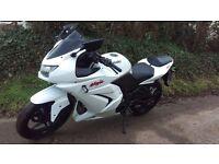Kawasaki Ninja 250R 2008 White