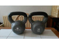 Kettlebell weights for fitness training