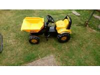 Jcb peddle tractor