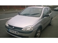 CORSA BREAKING FOR PARTS