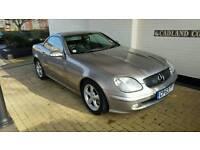 Low mileage Mercedes SLK