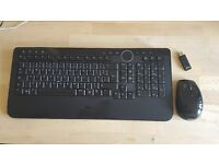 Dell Keyboard (Y-RBP-DEL4) and Mouse (M-RBV114) with dongle Wireless Bluetooth