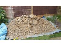 FREE - large pile of soil and clay mix. ideal for landscaping or filling a space in the garden.