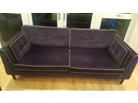 Stunning 4 and 2 seater sofolgy cricketer sofa for sale £495 .