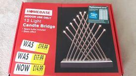 12 light candle bridge