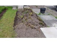 Free Soil next to road easy loading about 2 tons - Warrington