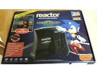 Childs first Sega Mega Drive Reactor console
