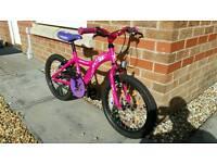 """Girls bike 18"""""""