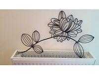 Floral wall art x2 *BRAND NEW*