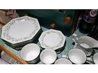 Immaculate Dinner 22-Piece Set + Free Salt and Pepper Shakers previously bought for £210