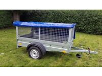 New car trailer-build and mesh £720 inc vat