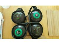 2x 4 pack of Lawn bowls