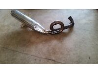 Pm61 tunning exhaust for a gilera runner 125
